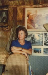 Pamela at Kora Camp