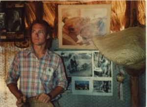 Peter at Kora Camp