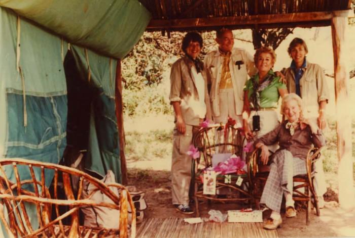Christmas guests at Samburu