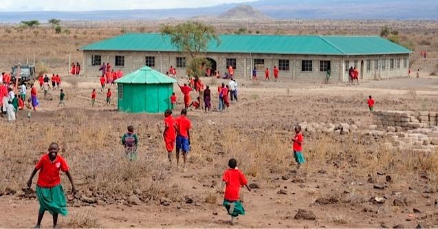 Students at Esiteti school