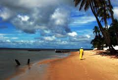 Senegal beach scene