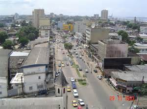 The Douala. Cameroon, we never saw