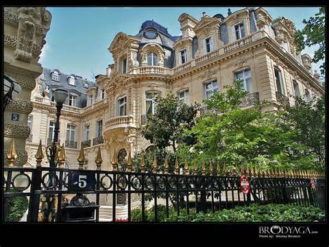 From Paris...  (Our Paris hotel resembled this building but this is not it!)