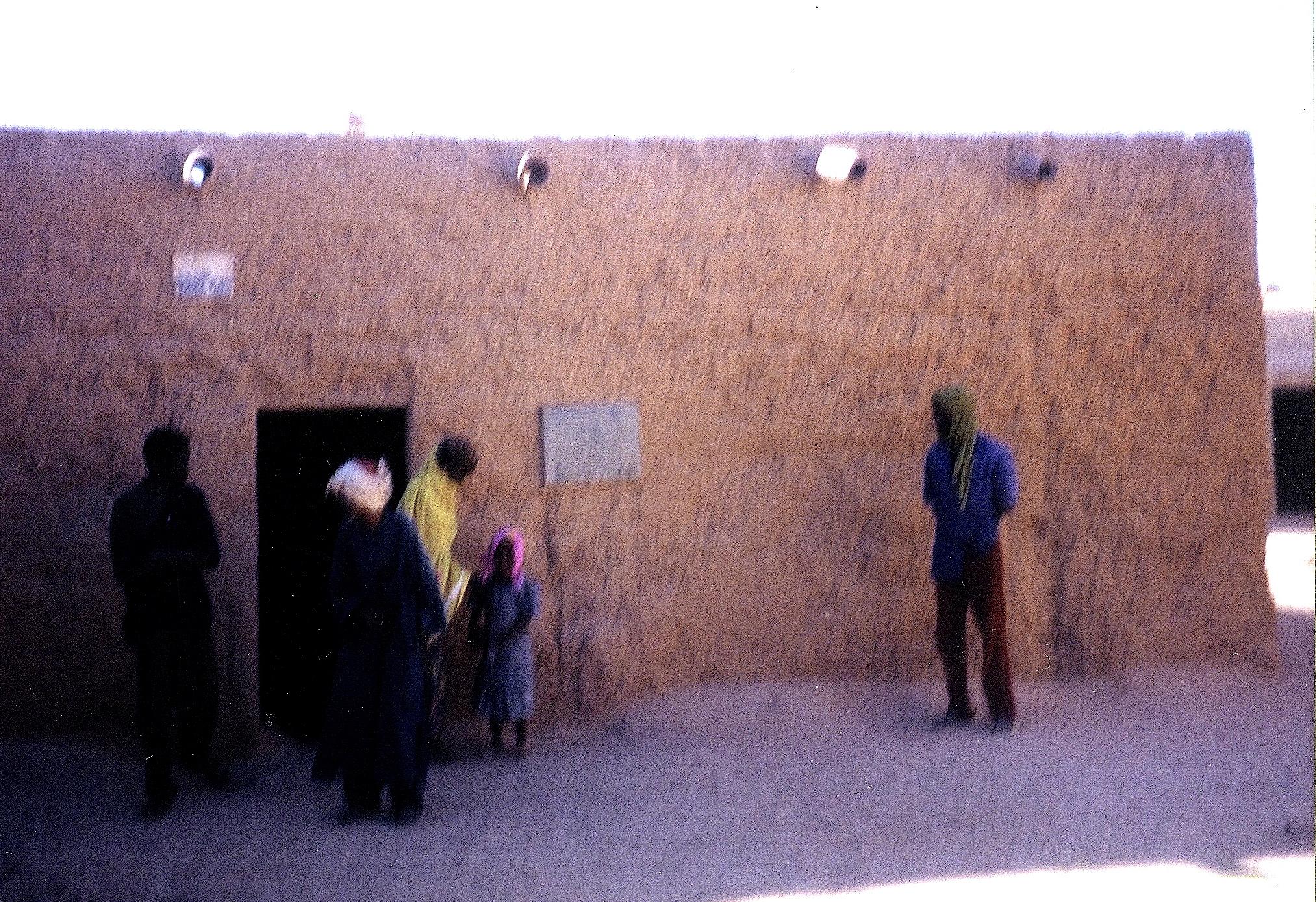 Barth's house in Agadez