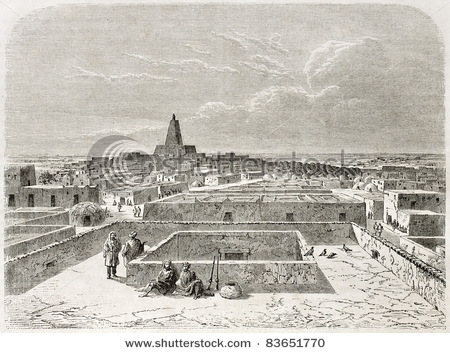 Timbuktu as it may have looked to Gordon Laing