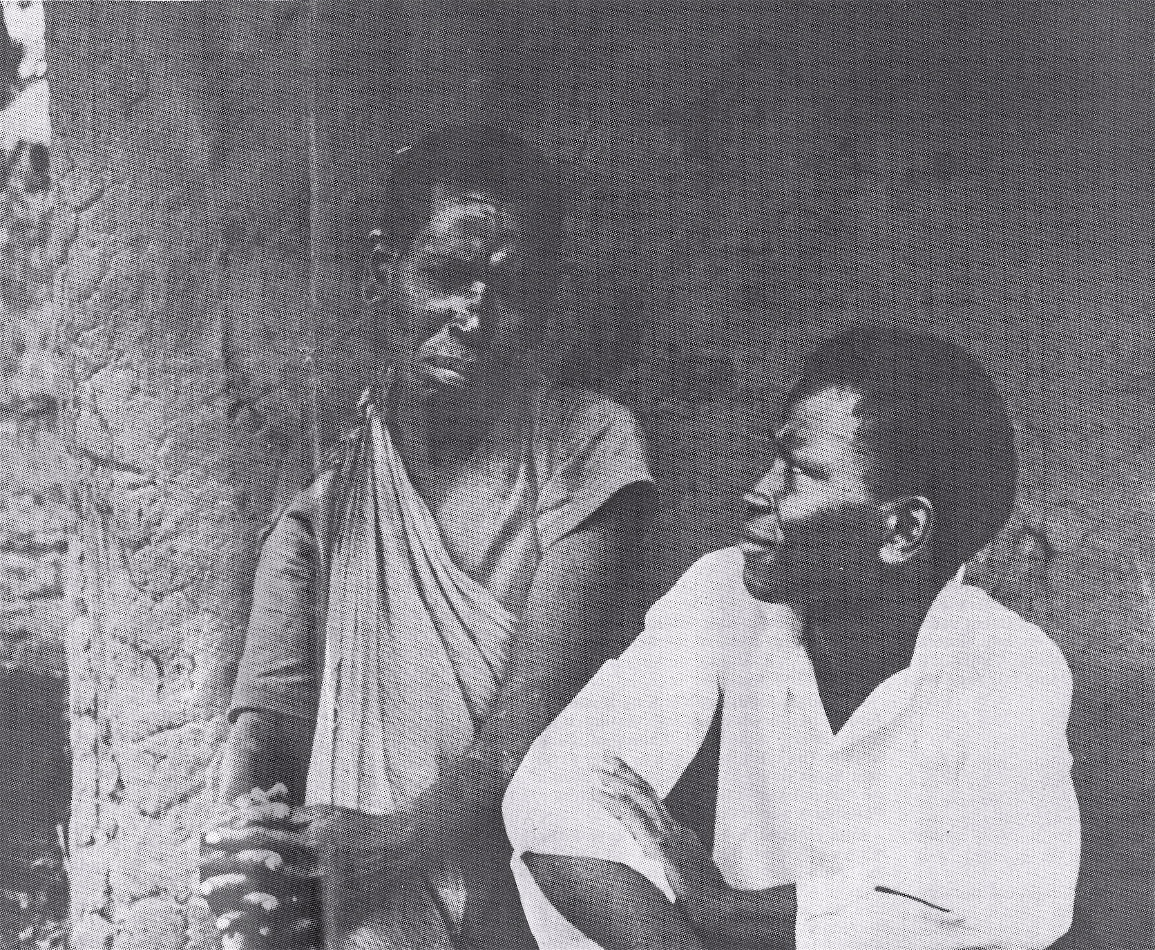 Anastasio and his mother